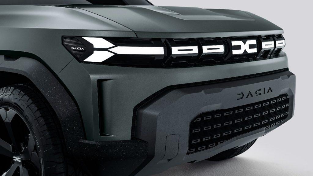 Nuevo frontal logo Dacia 2021