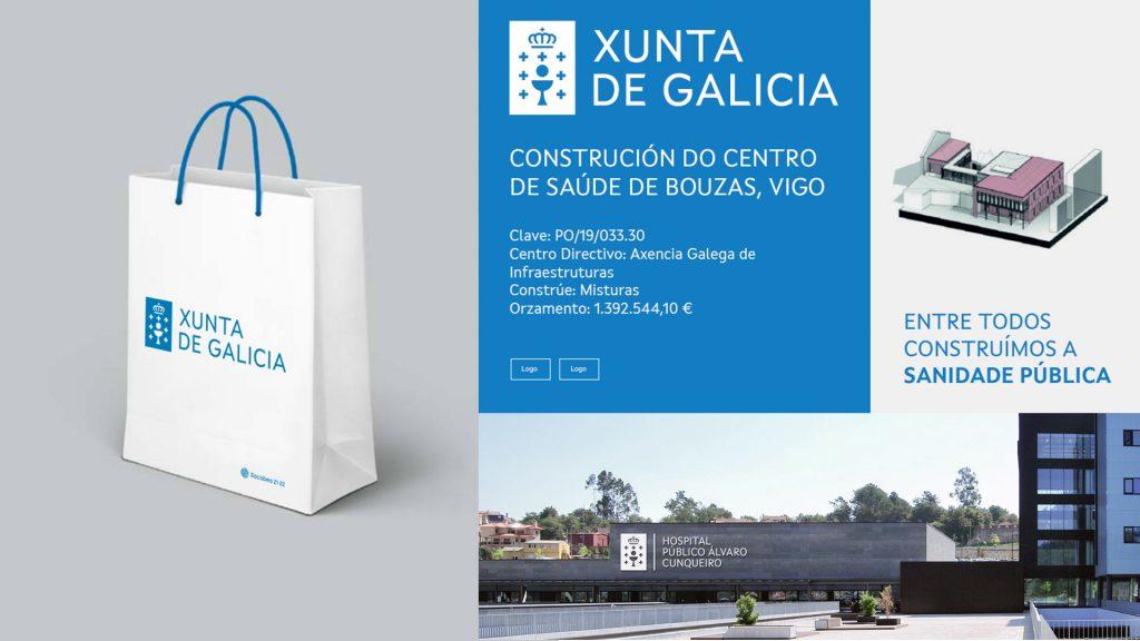sistema grafico de la identidad corporativa de la Xunta de Galicia