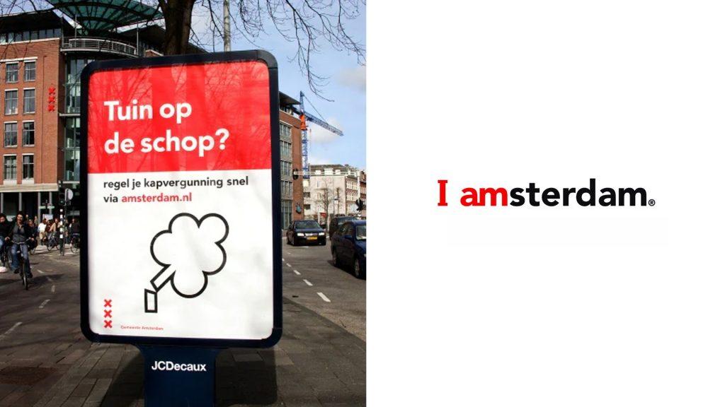 City branding realizado para amsterdam