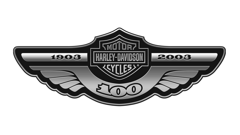 Logo conmemorativo Harley-Davidson