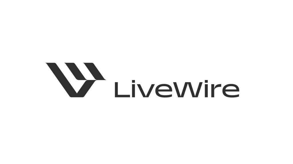 Livewire el logo de la división eléctrica de Harley-Davidson