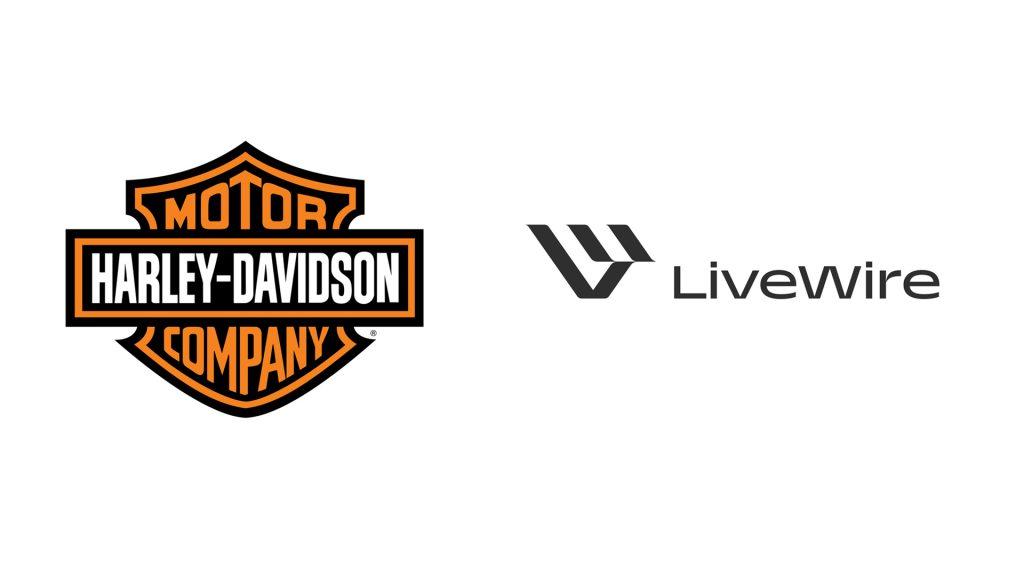 Logotipo de Harley-Davidson y el nuevo logo de LiveWire