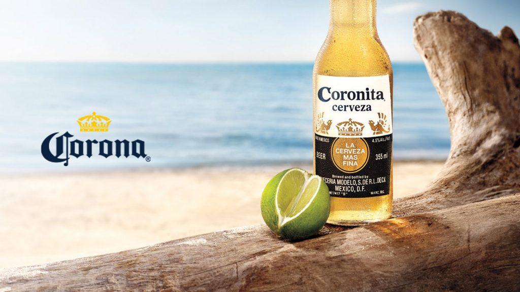 cerveza corona o coronita