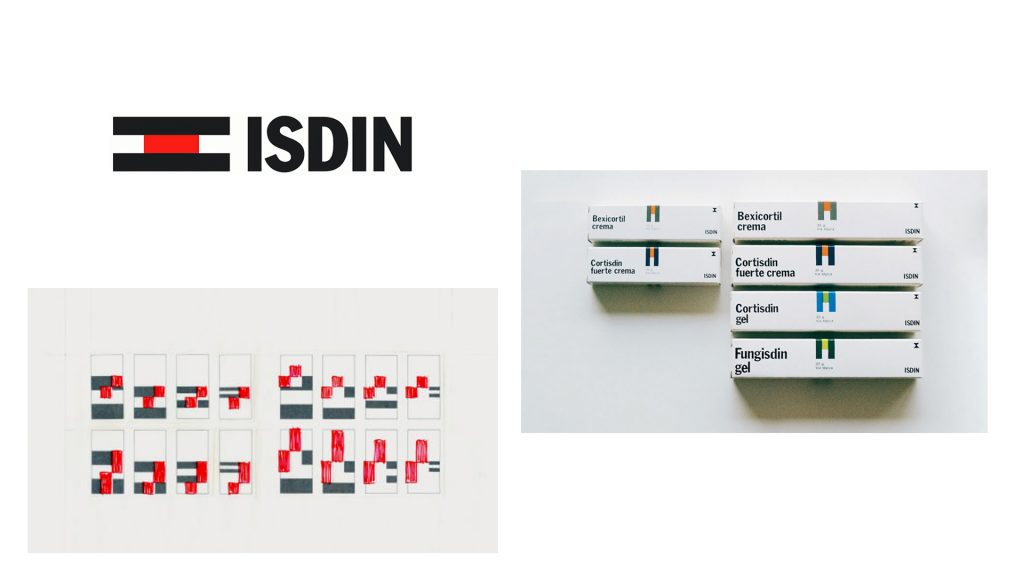 Identidad de ISDIN por Yves Zimmermann
