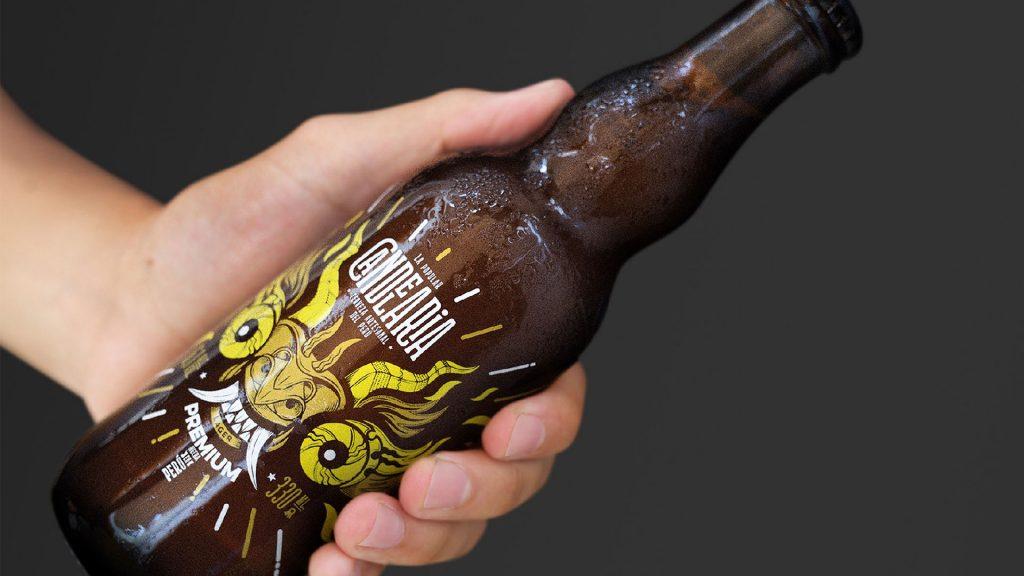 pacakging design para cervezas