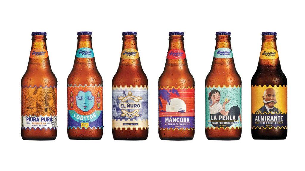 Lucho Correa en branding cervezas