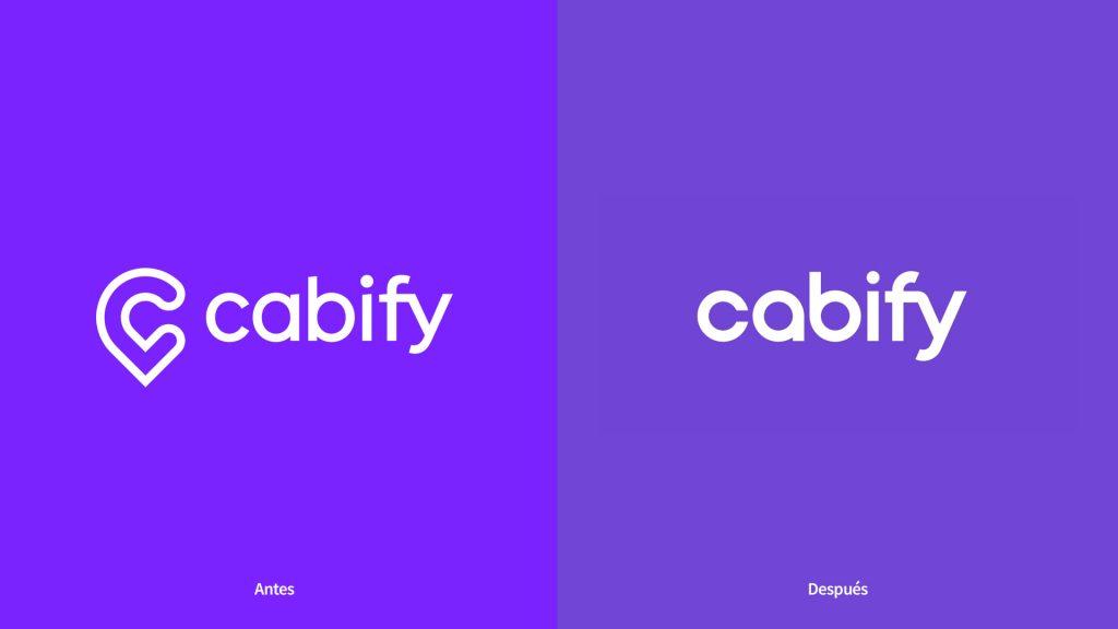 rebranding de Cabify en 2021 nuevo logo Cabify 2021