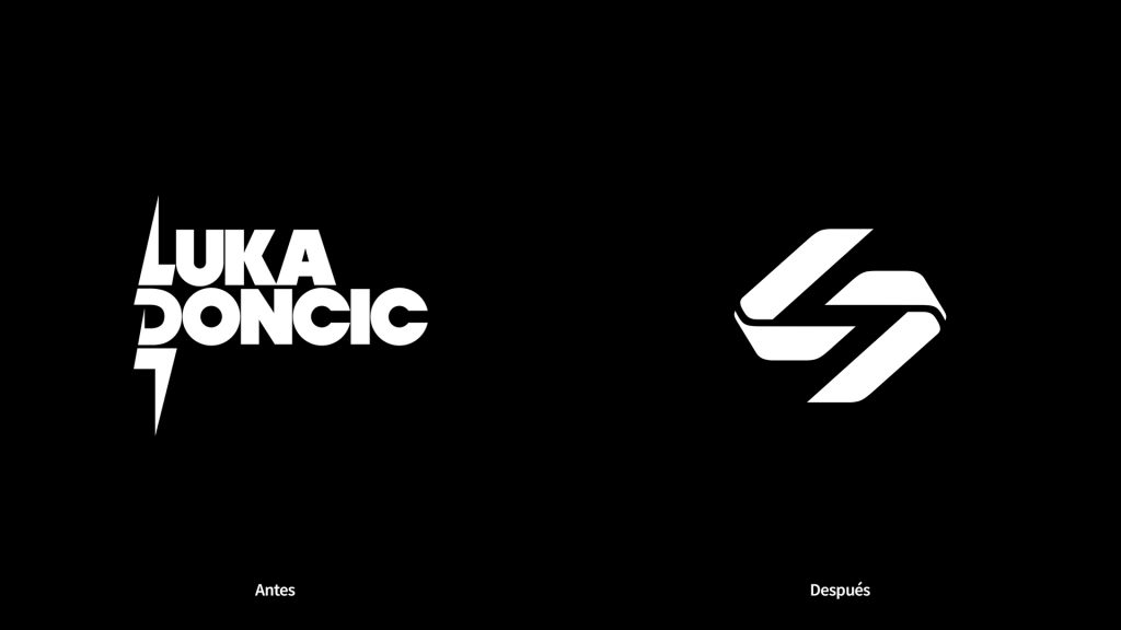 nuevo logo de Luka Dončić